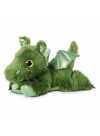Drache Roar, grün liegend Aurora Sparkle Tales Plüschtiere   Kuscheltier.Boutique