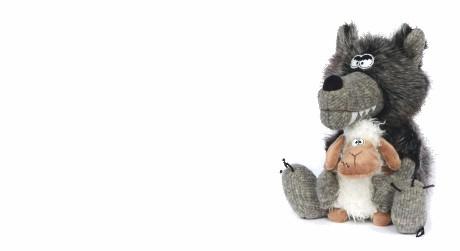 Kuscheltier Wolf der Marke sigikid BEASTS