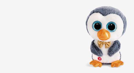 Pinguin mit Schleife der Marke NICI Glubschis