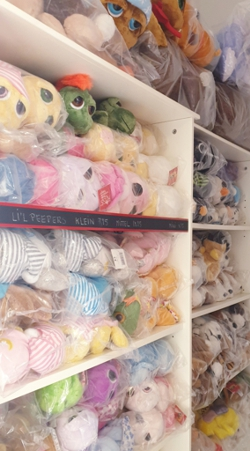 Lager Kuscheltierladen: LiL Peepers